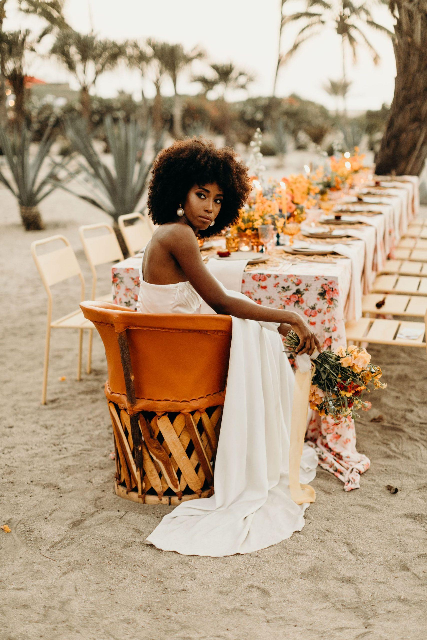 organic wedding by Lola Del Campo